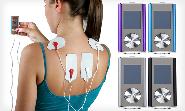 Digital Therapy Pulse Massager: Digital Pulse Massager with 8 Modes and Optional Combo Set. Multiple Options Available.