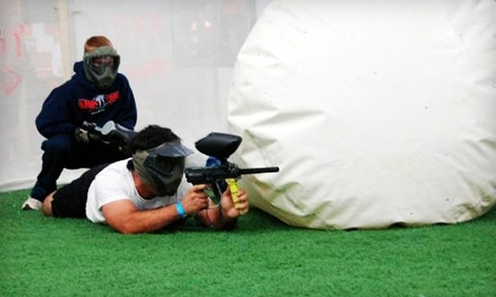Gatsplat - Lewisville: Paintball Outing with Equipment for One, Two, Four, or Six at Gatsplat (Up to 68% Off)