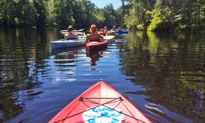 Santa Fe Canoe Outpost - High Springs-Alachua: Kayak, or Paddleboard Day Trip for 1, 2, or 4, or Overnight Canoe Trip for 2, 4, or 8 (Up to 52% Off)