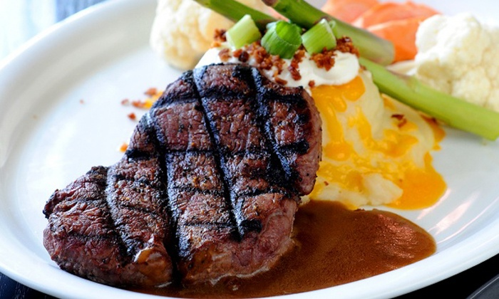 The O'Connor Station - Toronto: Steakhouse Lunch or Dinner for Two or Four at The O'Connor Station (47% Off)
