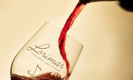Weekday or Weekend Wine Tasting for Two or Four at Lorimar Vineyards and Winery (Up to 50% Off)