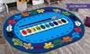 Kids' Number & Colour Play Rug