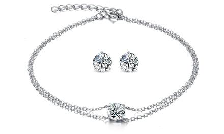 Bracelet et/ou Boucles doreilles de la marque Sreema London en argent 925