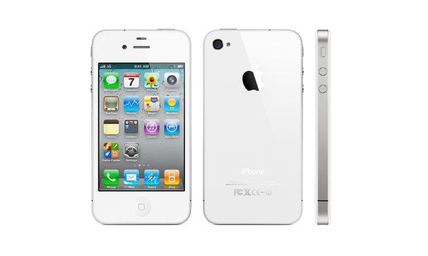 apple iphone 4 reconditionn groupon. Black Bedroom Furniture Sets. Home Design Ideas