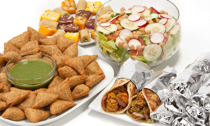 Bombay Wraps - Near North Side: Indian Wraps and Drinks at Bombay Wraps (30% Off). Option to Order Online.