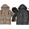 IZOD Heavyweight Puffer Jacket with Faux Leather Trim and Fleece Hat