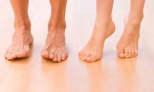 Remington Podiatry: Laser Toenail-Fungus Removal for One Toe, One Foot or Both Feet at Remington Podiatry (Up to 69% Off)