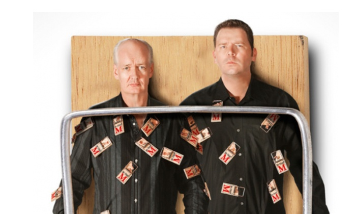 Colin Mochrie & Brad Sherwood: The Two Man Group - Victoria Theatre: $25 to See Colin Mochrie & Brad Sherwood: The Two Man Group on January 12 at 7 p.m. ($45 Value)