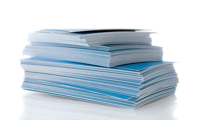 Xpress Shipping & Printing - Miami: Custom Business Cards at Xpress shipping & printing (46% Off)