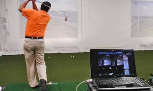 SwingTEK Golf Academy: Video Analysis or Golf Simulator with Rounds of Golf for Two or Four at SwingTEK Golf Academy (47% Off)