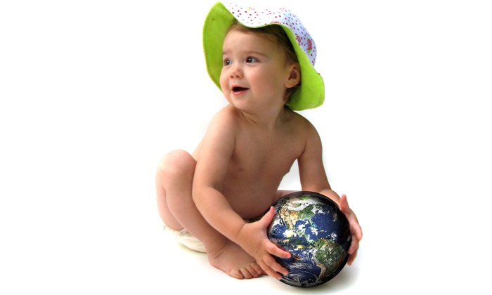 EarthBaby Compostable Diaper Service: $59 for Three Months' of EarthBaby Compostable Diaper Service with Diapers and Wipes ($120 Value)