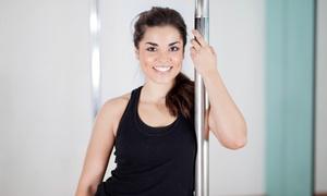 Unleashed Women's Fitness Studio: 3 or 10 Beginning Pole Fitness Classes at Unleashed Women's Fitness Studio (Up to 86% Off)