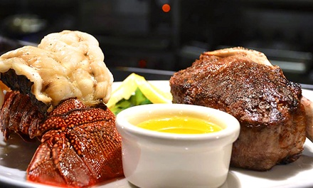 $60 for $100 Worth of Steak and Wine at 801 Chophouse
