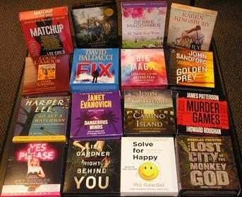 5 Audio Book Rentals at Talking Books Plus 344de713-9a93-41ba-a3ac-2b15a6442ead