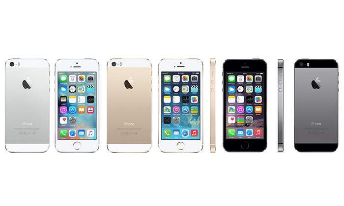 apple iphone 5s 16 32 64 go groupon shopping. Black Bedroom Furniture Sets. Home Design Ideas