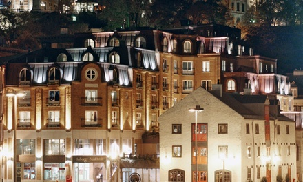 Groupon Deal: 1-Night Stay for Two with Valet Parking and Optional Breakfast and Dinner at Auberge Saint-Antoine in Quebec City, QC