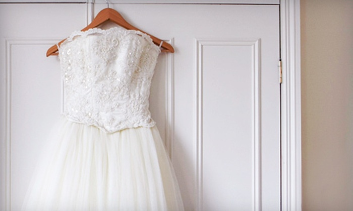 Flindall's Cleaners and Woodland Cleaners - Multiple Locations: Dry Cleaning with Optional Preservation for a Wedding Dress at Flindall's Cleaners and Woodland Cleaners (Up to 67% Off)