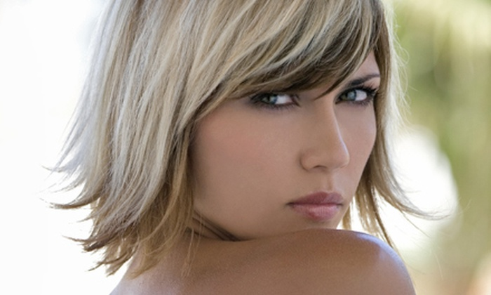 Lasting Impressions Salon - Naperville: Haircut with All-Over Color, a Color Touchup, or Full Foil Highlights at Lasting Impressions Salon (Up to 60% Off)