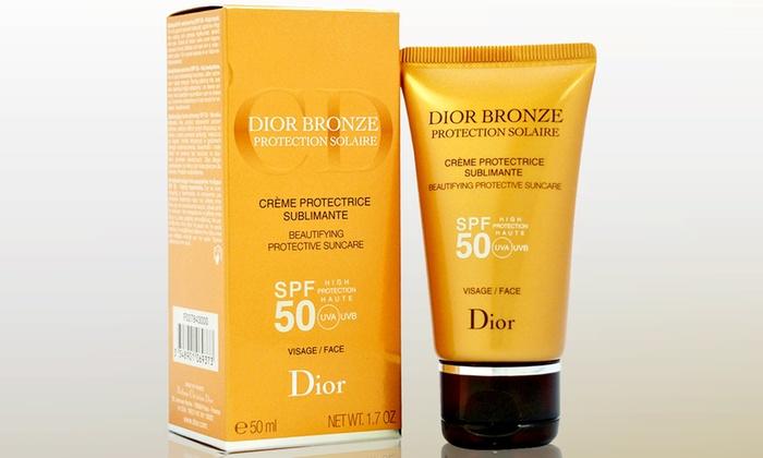 24e1f053 Christian Dior Bronze Beautifying Protective High Protection SPF 50  Sunscreen; 1.7 Oz.