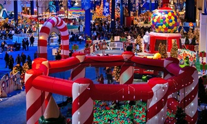 Navy Pier: 4-Person Package to First Look at PNC Bank Winter WonderFest at Navy Pier. 3 Options Available.