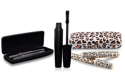 Organic 3D Fiber Lashes Transplanting Gel and Natural Fibers Mascara Set