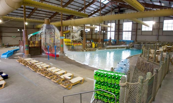 Cascades Indoor Water Park - Cascades Indoor Water Park: One, Two, or Four Cascades Indoor Water Park Tickets (Up to 54% Off)