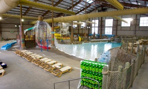 Cascades Indoor Water Park: One, Two, or Four Cascades Indoor Water Park Tickets (Up to 51% Off)