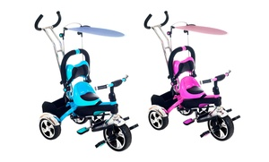 Lil Rider Convertible 4-Stage 2-in-1 Stroller-Tricycle