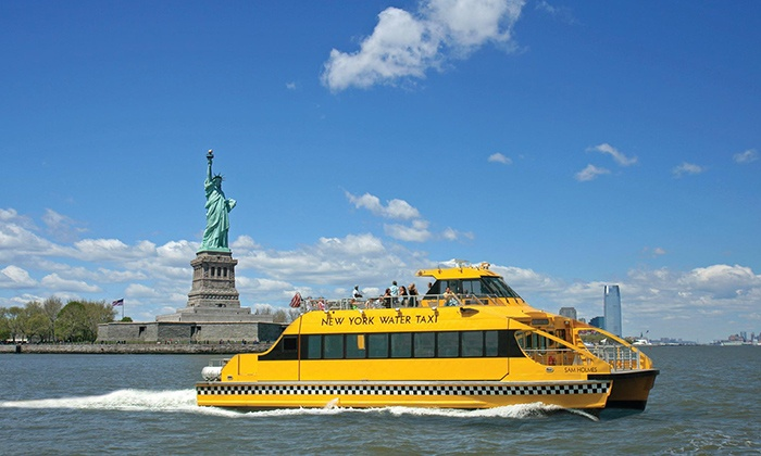 New York Water Taxi - South Street Seaport: $16 for One Boat Tour from New York Water Taxi (Up to $30 Value)