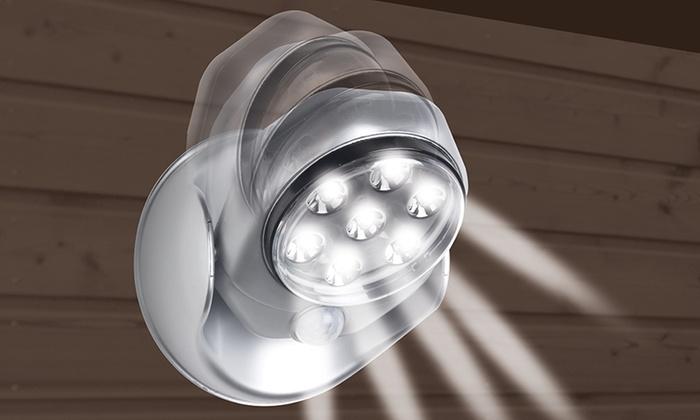 Lampe Led Sans Fil 360 Détecteur De Mouvement Groupon Shopping