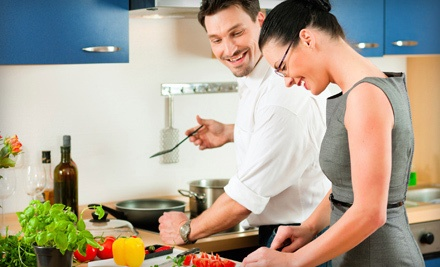 Group Cooking Classes for One, Two, or Four at The Kitchen (Up to 51% Off)