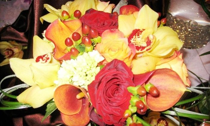 Atlanta Wedding Florals/Simple Elegance Florals - Atlanta: Bridal-Party Flowers or Bridal-Party Flowers with Centerpieces from Atlanta Wedding Florals (Up to 63% Off)