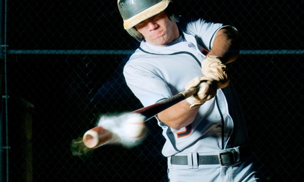 $25 for Five 15-Minute Batting-Cage Sessions at Strike Zone ($50 Value)