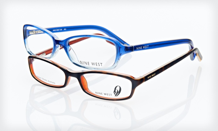 Nine West Women's Optical Frames: $19 for Nine West Women's Optical Frames (Up to $190 List Price). 14 Styles Available. Free Shipping and Free Returns.