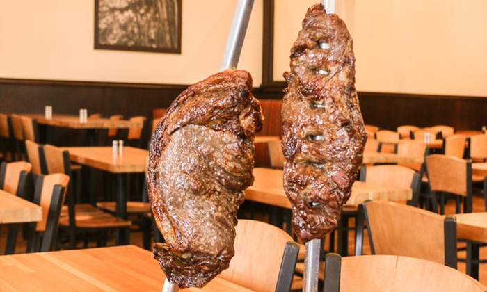 Figueira Brazilian Grille & Pizza Bar - Millenia: $31 for a Brazilian Steakhouse Dinner for Two at Figueira Brazilian Grille & Pizza Bar ($45.90 Value)