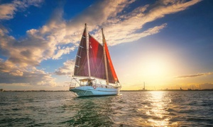 Royal Pacific Marine: $89 for a Three-Hour Melbourne Sunday Afternoon Sailing Cruise with Afternoon Tea with Royal Pacific Marine, Docklands