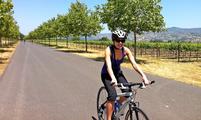 Gears and Grapes Getaways - San Francisco: Napa or Sonoma Wine Bike Tour for One or Two People from Gears and Grapes Getaways (19% Off)