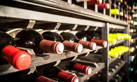 Wine Tasting and Small Plate for Two at Secret Cellar (Up to 48% Off). Two Options Available.