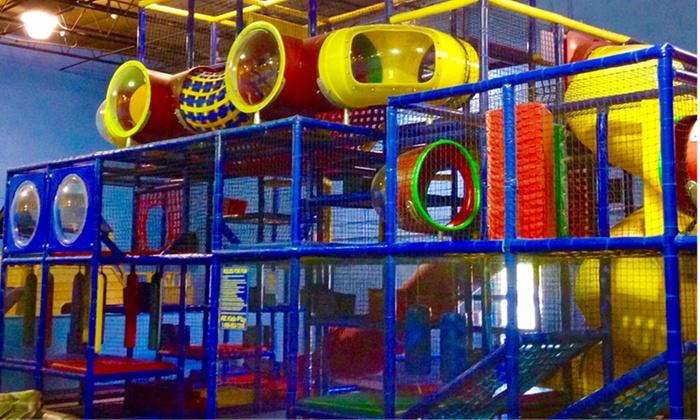 Active Kidz - Long Island - Jericho: Active Kidz - Long Island Indoor Fun Park (Up to 51% Off). Four Options Available.