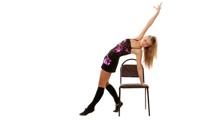 HeartBeat Houston Dance and Fitness - Houston: Five 60-Minute Flirty Chair Fit or Stiletto Sculpt Classes at HeartBeat Houston Dance and Fitness (50% Off)
