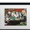 "Jenny Newland Cats and Dogs Framed Art (16""x24"")"