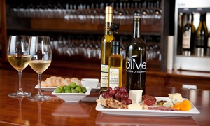 We Olive Walnut Creek: $29 for a Wine Tasting and Small Plates for Two at We Olive Walnut Creek ($60 Value)