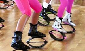 Kangoo Club Li: Five Dance-Fitness Classes Including Boot Rental at Kangoo Club Li (65% Off)