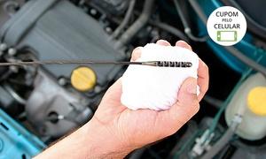 Fast Car 2 Comércio e Serviços Automotivos: Fast Car 2 – Jardim Laguna: troca de óleo, pastilha de freio ou correia dentada e tensor + 6 serviços