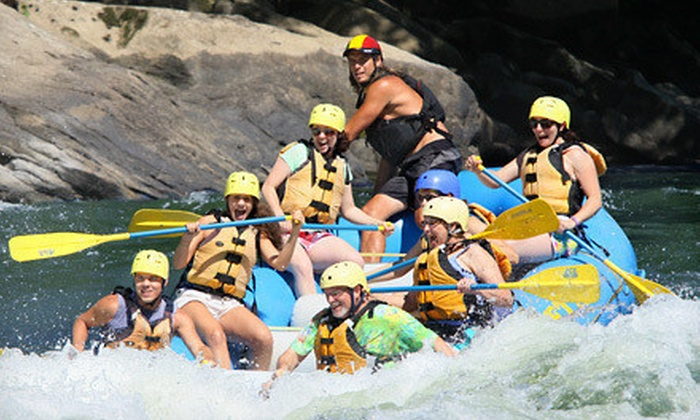 ACE Adventure Resort - Minden, WV: Camping and Whitewater-Rafting Weekend with Optional Zipline Tour for One or Two at Ace Adventure Resort (Up to 51% Off)