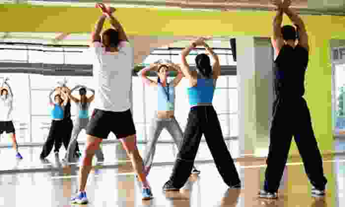 The Aerobics and Fitness Studio - Amherst: 10 or 15 Group Fitness Class Tokens at The Aerobics and Fitness Studio (Up to 73% Off)
