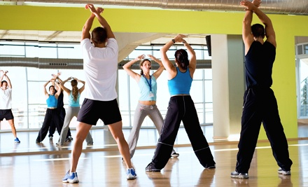 10 or 15 Group Fitness Class Tokens at The Aerobics and Fitness Studio (Up to 73% Off)