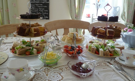 Afternoon Tea with an Optional Glass of Bubbly for Two at The Willows Vintage Tea Room