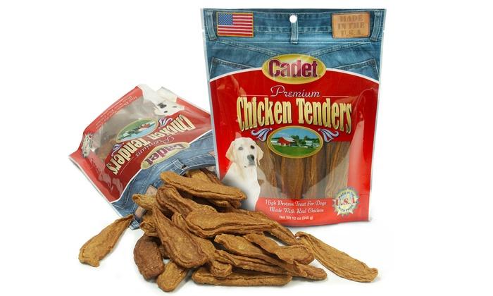2-Pack of Cadet Premium Chicken Tenders Dog Treats: 2-Pack of Cadet Premium Chicken Tenders Dog Treats