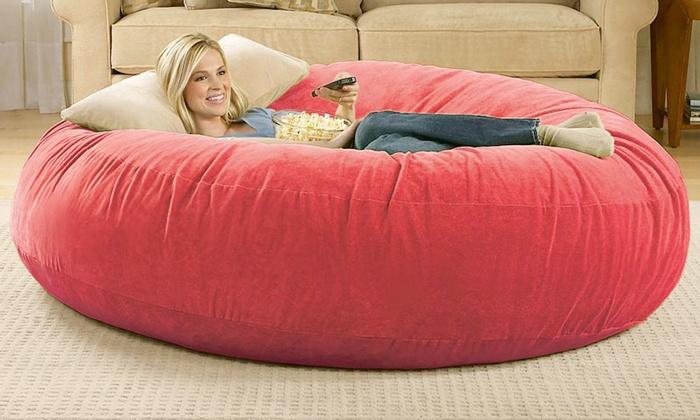 Portable Snuggy Beanbag